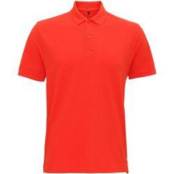 textil Herre Polo-t-shirts m. korte ærmer Asquith & Fox AQ017 Paprika