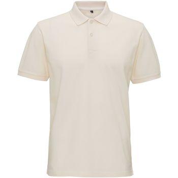 textil Herre Polo-t-shirts m. korte ærmer Asquith & Fox AQ017 Vintage White