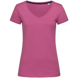 textil Dame T-shirts m. korte ærmer Stedman Stars Megan Cupcake Pink