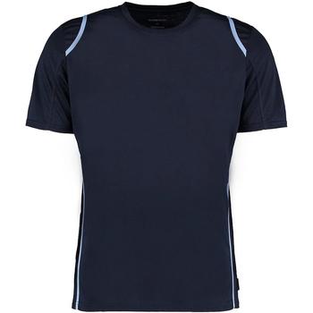 textil Herre T-shirts m. korte ærmer Gamegear Cooltex Navy/Light Blue