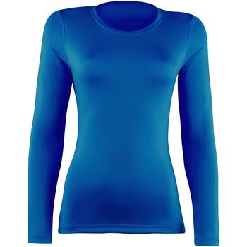 textil Dame Langærmede T-shirts Rhino  Royal