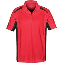 textil Herre Polo-t-shirts m. korte ærmer Stormtech ST955 Red/Black