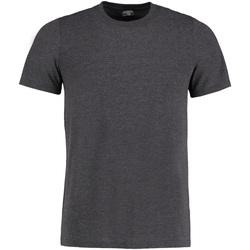 textil Herre T-shirts m. korte ærmer Kustom Kit KK504 Dark Grey Marl