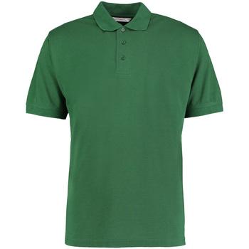 textil Herre Polo-t-shirts m. korte ærmer Kustom Kit KK403 Bottle Green