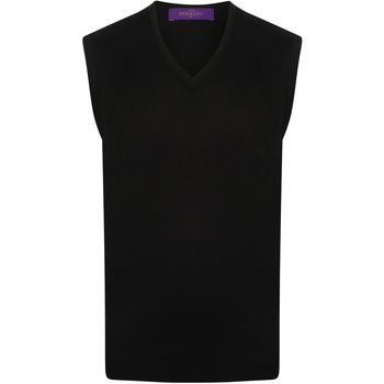 textil Herre Pullovere Henbury HB724 Navy
