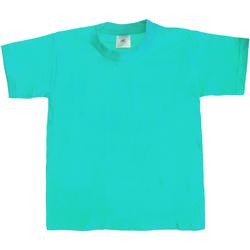 textil Børn T-shirts m. korte ærmer B And C Exact 190 Swimming Pool