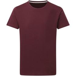 textil Herre T-shirts m. korte ærmer Sg Perfect Burgundy