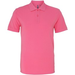 textil Herre Polo-t-shirts m. korte ærmer Asquith & Fox AQ010 Pink Carnation