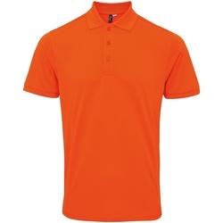 textil Herre Polo-t-shirts m. korte ærmer Premier PR630 Orange