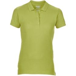 textil Dame Polo-t-shirts m. korte ærmer Gildan 85800L Kiwi