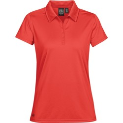 textil Dame Polo-t-shirts m. korte ærmer Stormtech PG-1W Bright Red