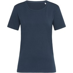 textil Dame T-shirts m. korte ærmer Stedman  Marina Blue