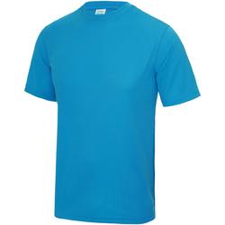 textil Børn T-shirts m. korte ærmer Awdis JC01J Sapphire Blue