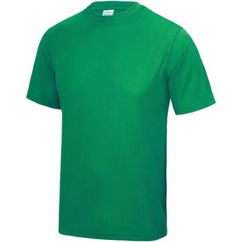 textil Herre T-shirts m. korte ærmer Awdis JC001 Kelly Green