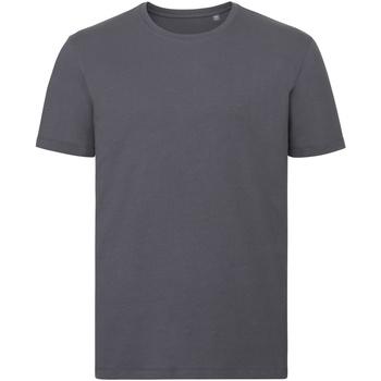 textil Herre T-shirts m. korte ærmer Russell R108M Convoy Grey