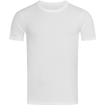 textil Herre T-shirts m. korte ærmer Stedman Stars Morgan White