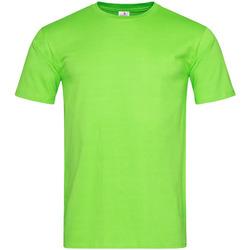 textil Herre T-shirts m. korte ærmer Stedman  Kiwi Green
