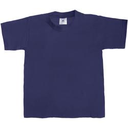 textil Børn T-shirts m. korte ærmer B And C TK301 Navy Blue