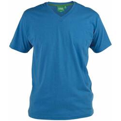 textil Herre T-shirts m. korte ærmer Duke Signature-2 Blue