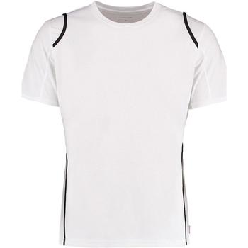 textil Herre T-shirts m. korte ærmer Gamegear Cooltex White/Black
