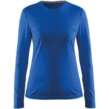 textil Dame Langærmede T-shirts Craft CT89F Swedish Blue