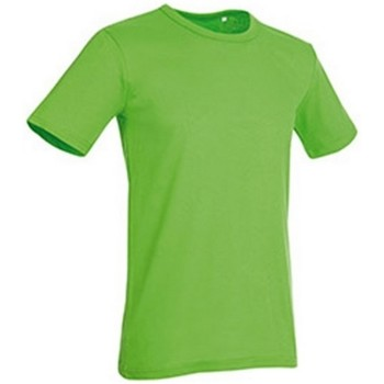 textil Herre T-shirts m. korte ærmer Stedman Stars Morgan Green Flash