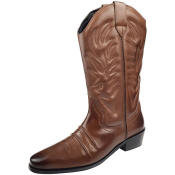 Sko Herre Chikke støvler Woodland High Clive Dark Brown