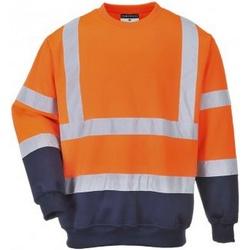 textil Herre Sweatshirts Portwest PW668 Orange/Navy