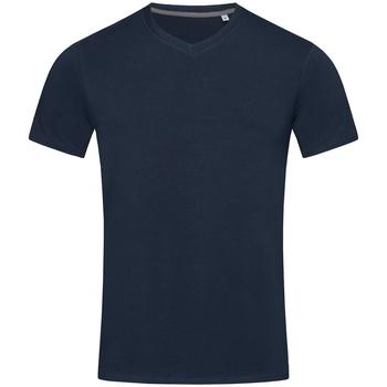 textil Herre T-shirts m. korte ærmer Stedman Stars Clive Marina Blue