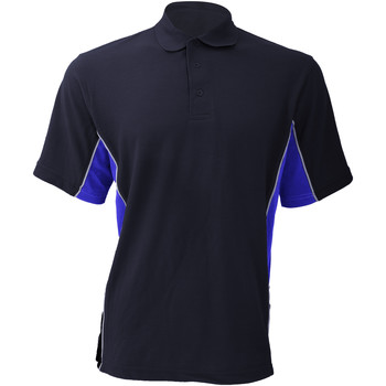 textil Herre Polo-t-shirts m. korte ærmer Gamegear KK475 Navy/Royal/White