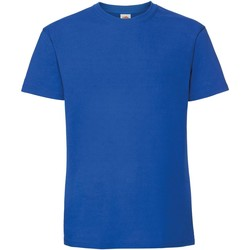 textil Herre T-shirts m. korte ærmer Fruit Of The Loom 61422 Royal