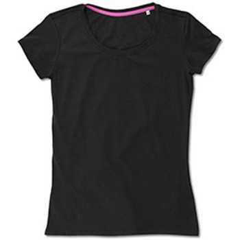 textil Dame T-shirts m. korte ærmer Stedman Stars  Black Opal