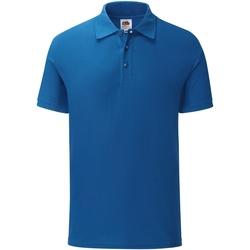 textil Herre Polo-t-shirts m. korte ærmer Fruit Of The Loom SS221 Royal Blue