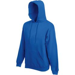 textil Herre Sweatshirts Fruit Of The Loom 62152 Royal Blue