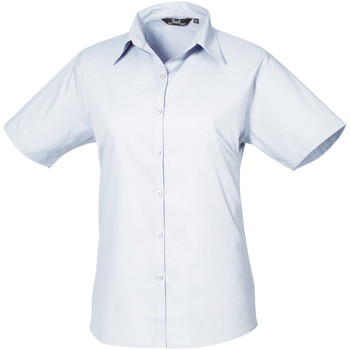 textil Dame Skjorter / Skjortebluser Premier PR302 Light Blue