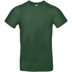 textil Herre T-shirts m. korte ærmer B And C TU03T Bottle Green