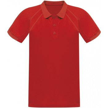 textil Herre Polo-t-shirts m. korte ærmer Regatta RG524 Classic Red