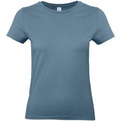 textil Dame T-shirts m. korte ærmer B And C E190 Stone Blue