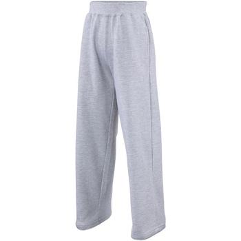 textil Børn Træningsbukser Awdis JH71J Heather Grey