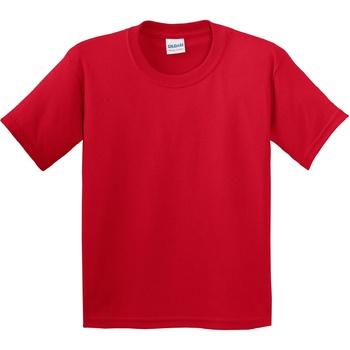 textil Børn T-shirts m. korte ærmer Gildan 5000B Red