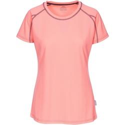 textil Dame T-shirts m. korte ærmer Trespass Mamo Neon Coral