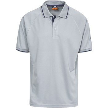 textil Herre Polo-t-shirts m. korte ærmer Trespass Bonington Platinum