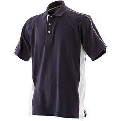 textil Herre Polo-t-shirts m. korte ærmer Finden & Hales LV322 Navy/White
