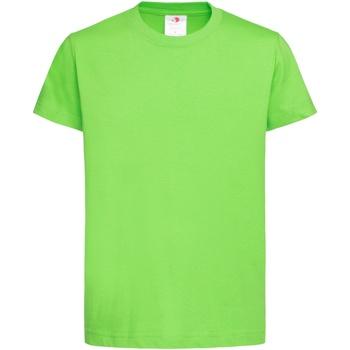 textil Børn T-shirts m. korte ærmer Stedman  Kiwi