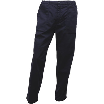 textil Herre Cargo bukser Regatta TRJ330R Navy Blue