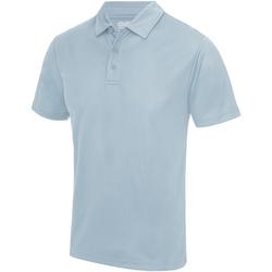 textil Herre Polo-t-shirts m. korte ærmer Awdis JC040 Sky Blue