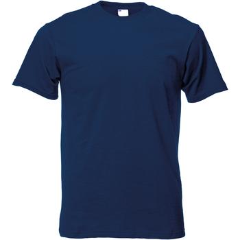 textil Herre T-shirts m. korte ærmer Universal Textiles 61082 Navy Blue