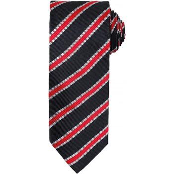 textil Herre Slips og accessories Premier PR783 Black/Red