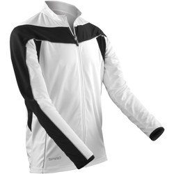textil Herre Sportsjakker Spiro S255M White / Black