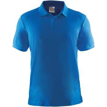 textil Herre Polo-t-shirts m. korte ærmer Craft CT045 Swedish Blue